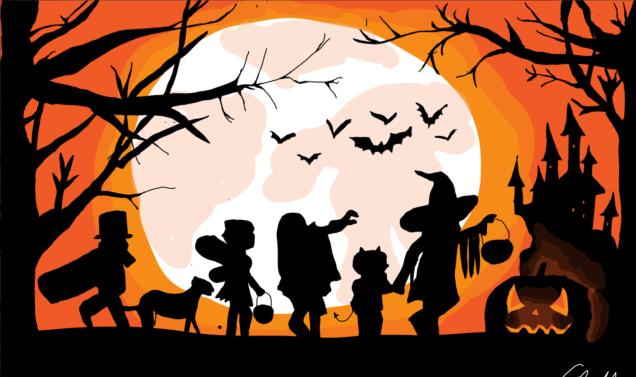 Afbeeldingsresultaat voor Halloweentocht